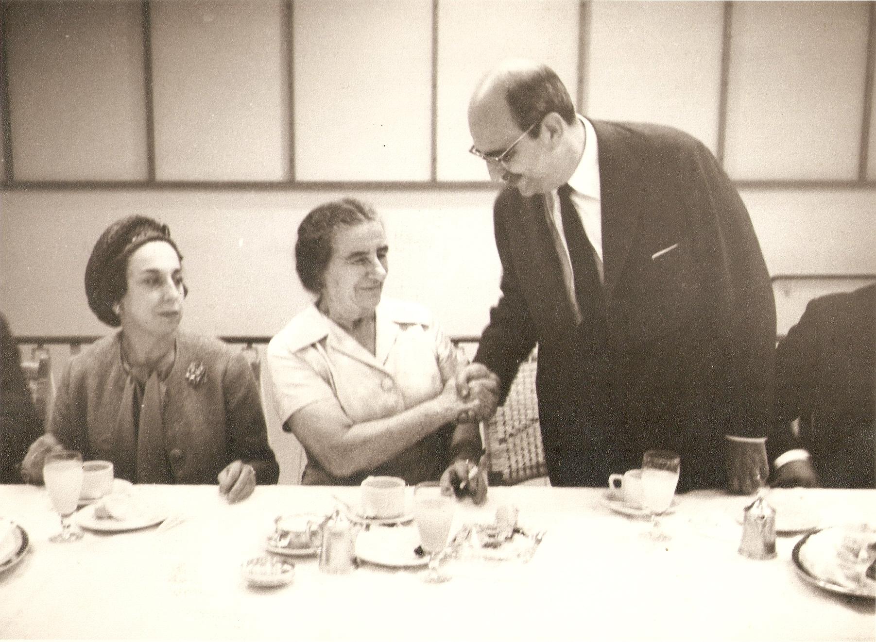 Com Golda Meir - 1962