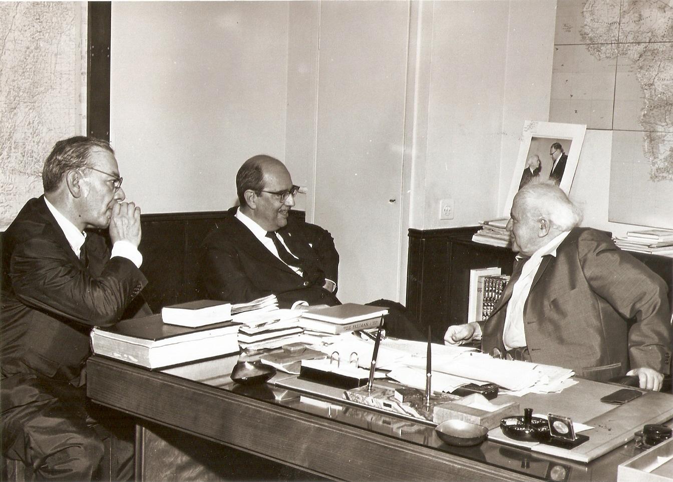 Com Ben Gurion - 1962