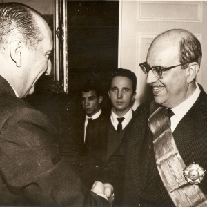 Com o Embaixador Chileno - 1963
