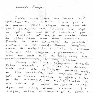 Exemplar de escrita