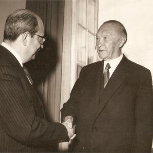 Com Adenauer - 1962